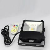2.4G RF 30W RGB+W LEDの洪水ライト