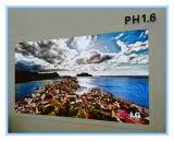 Piccola visualizzazione di LED dell'interno del passo HD del pixel P1.6