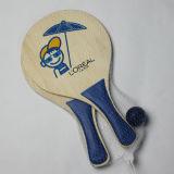 Hölzernes Beach Paddle Ball Game für Outdoor Sports (PT91691-3)
