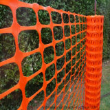 HDPE Naranja Barrera Esgrima red de seguridad