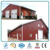 SGS aprobado Pórtico prefabricados metálicos con aislamiento de la construcción