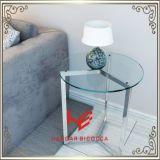 Ecktee-Tisch-Edelstahl-Möbel-Ausgangsmöbel-Hotel-Möbel-moderner Möbel-Tisch-Kaffeetisch-Tisch- für Systemkonsoleseiten-Tisch des tisch-(RS161302)