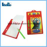 Los niños personalizados promocionales de plástico barato el Bloc de notas con lápiz