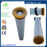 Cartuccia di filtro dell'aria del poliestere di Ccaf per l'accumulazione di polvere