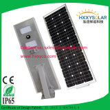 25W Solar Street Light с Bridgelux Chip