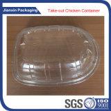 Wegwerfplastiktiefkühlkost-Tellersegment