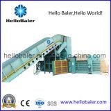 Prensa automática horizontal para el papel usado con el transportador durable