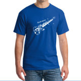 T-shirt pour hommes en imprimé blanc
