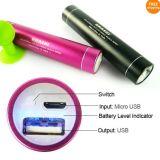 2600mAh Lipstick Universal Backup Battery Power Bank (MP101)