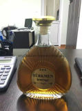 Garrafa de licor de vinho de qualidade Brandy de qualidade superior para 700ml 750ml