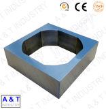 CNCのカスタム精密機械はCNCによって機械で造られる部分アルミニウムベースを分ける