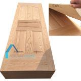 Piel moldeada madera contrachapada de la puerta de la chapa de la ceniza con buena calidad