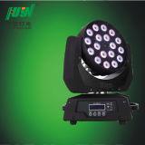 軽い2013段階10W 18PCS LEDの移動頭部