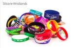 Pulseiras de borracha linda Pulseira de pulso personalizada Pulseiras de pulseira de silicone personalizadas