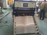La machine en plastique d'expulsion et de découpage de feuille de vis simple de Yxwj, extrudeuse de feuille en plastique avec couper le matériel, extrudeuse de feuille de dépliants de bureau branchent au coupeur
