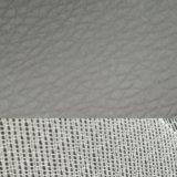 SGSの金の証明Z008 Lycheeの灰色の灰色PVCレザーの荷物の革