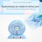 Beweglicher nachladbarer Fan, Schreibtisch-Tabletop Fan, kleiner Arbeitsweg-Fan, im Freienfan