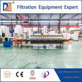 870 Serien-Raum-Filterpresse mit der Zweit-Zeit, die für Municiple Abwasser zusammendrückt