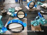 Hochleistungs--elektrischer betätigter Oblate-Typ Drosselventil