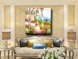 Parede natural Parede Imagem Decoração para casa Grande obra de arte Pintura em óleo de paisagens de jardim