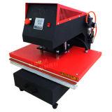 De pneumatische Machine van de Pers van de Hitte van de Enige Post Textiel