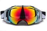 Doble PC Lente Snowboard Protección UV Gafas de Seguridad Máscara Gafas
