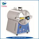 Esterilizador del vapor de la presión de la tapa de vector con la función de sequía