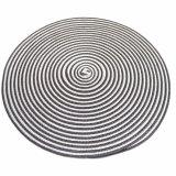 Dubbele Kleuren 100% Polyester Geweven Tablemat voor Tafelblad