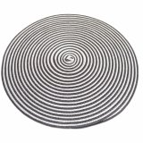 O dobro colore Tablemat tecido o poliéster 100% para o Tabletop