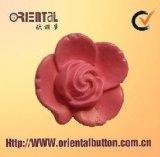La mano protettiva decora il tasto del fiore (H-1624SWM-Z)