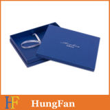 Blue Fancy Paper Gift Packaging Paper Box / Paper Gift Box