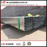 O melhor preço da tubulação quadrada galvanizada mergulhada quente do aço de carbono de 150X150mm