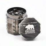 알루미늄 합금 4는 47mm 직경 Cali 쇄석기 담배 나물 향미료 분쇄기를 분해한다