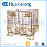 Logistisches Speicherzusammenklappbarer Haustier-Vorformling-Draht-Behälter für Flaschen