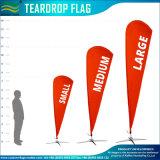 Изготовленный на заказ флаги Teardrop пляжа летания (NF04F06120)