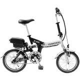 Pliage de la batterie de grenouille Samsung E-Bike pliable Scooter électrique E vélo plié Cadre en alliage de ia