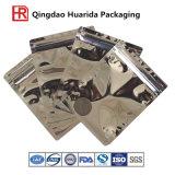 Bolso de empaquetado de la ropa transparente de la fuente de la fábrica de China con diseño del cliente