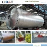 Tipo plástico de la economía de combustible para engrasar el reciclaje de la máquina 10tpd