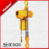 tipo fisso gru Chain elettrica (WBH-05002SF) di 5ton /Hook