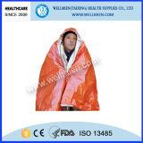 Camping Outdoor Solar Thermal saco de dormir de emergência PE