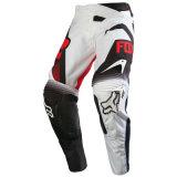 Pantaloni di riciclaggio di motocross dell'OEM dell'attrezzo di usura personalizzati bianco Mx/MTB (MAP24)