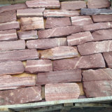Nouveau produit naturel noir lâche de placage de pierre (SMC-FS025)