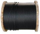 Câble de fibre optique du faisceau 3000n de GYFTY 8 avec la qualité