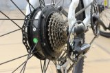 Bici eléctrica con el vástago del manillar del desbloquear rápido