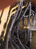 Excavador japonés usado muy bueno KOMATSU PC200-7 de la correa eslabonada hidráulica de las condiciones de trabajo