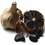 Здоровье питание чеснок и черного цвета свежего чеснока