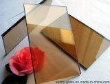 6mmのCe&ISO9001の金青銅色のフロートガラス
