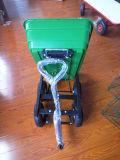 Handliche Garten-Speicherauszug-Schlussteil-Dienstkarre mit Plastiktellersegment