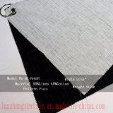 Tela de linho do algodão para a cortina do revestimento de vestido do terno