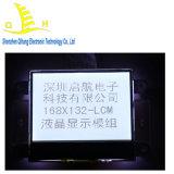 168*132 liquide module l'écran LCD avec rétroéclairage à LED blanche